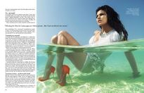 Jacqueline Fernandez on Vogue Magazine June 2010  Photos