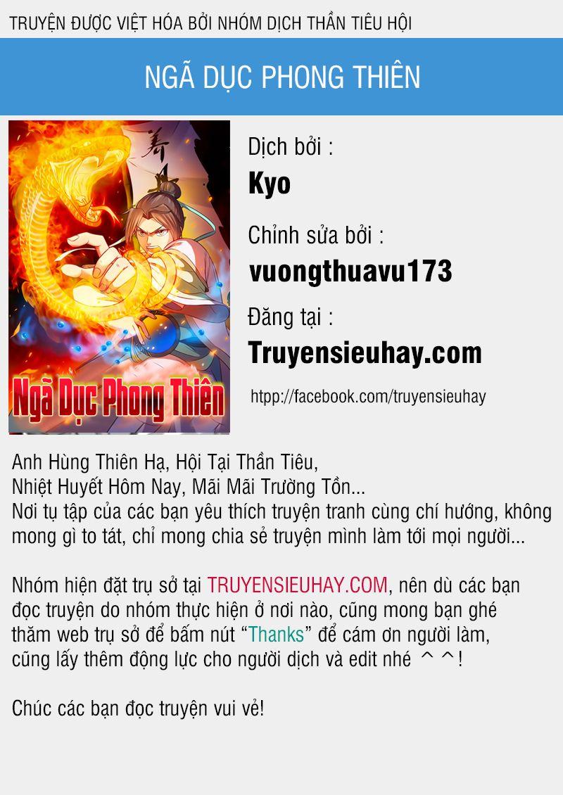 Ngã Dục Phong Thiên - Chap 59