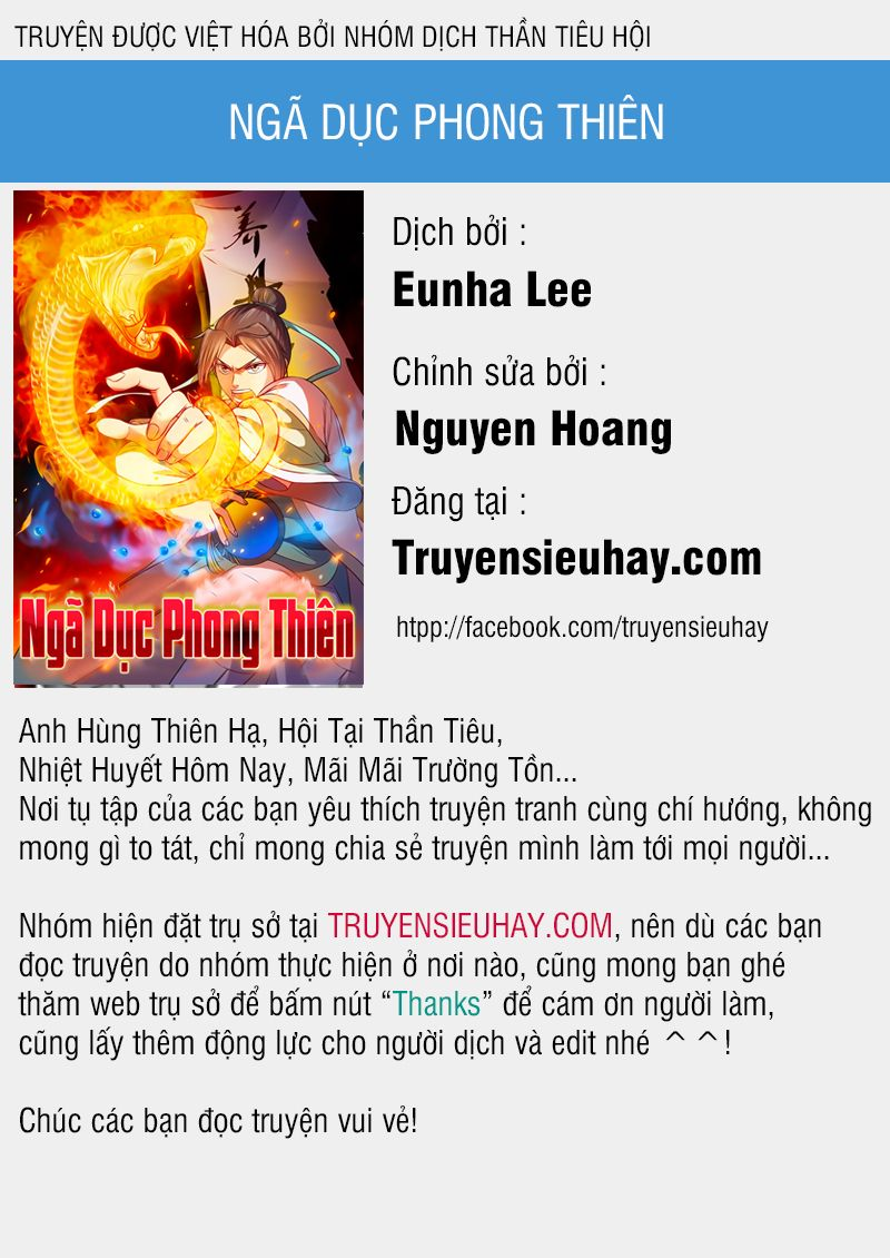 Ngã Dục Phong Thiên - Chap 18