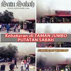 Portal Satu Sabah: Kebakaran Rumah Terkini   Taman Jumbo Putatan Sabah