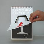 """Betul Betul Kreatif - Lampu Meja """"Page by Page"""" (9 Gambar)"""