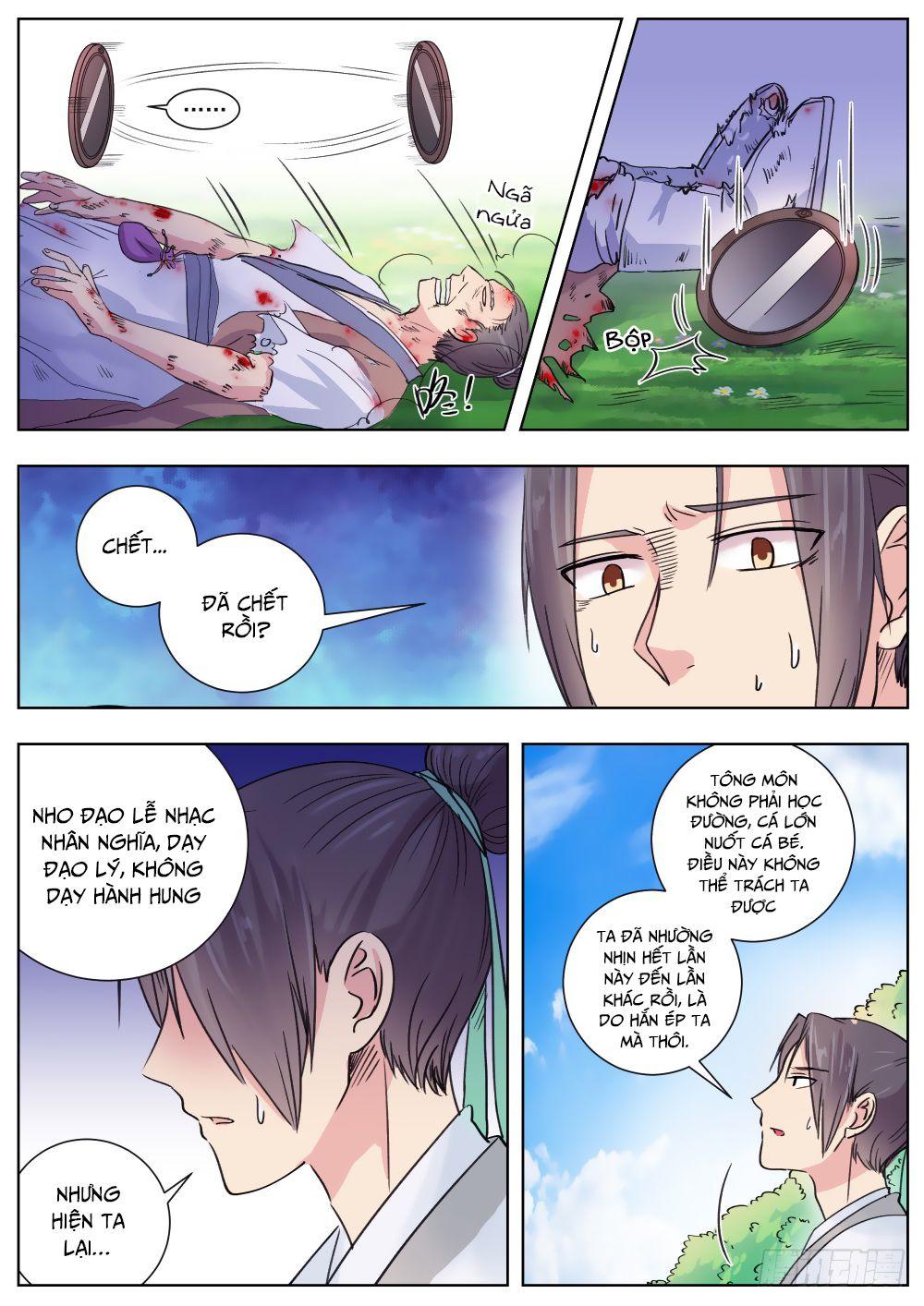 Ngã Dục Phong Thiên - Chap 8