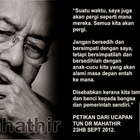Kau Ilhamku◕‿◕: Words of Wisdom #9
