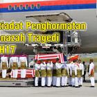 TERKINI! - GAMBAR Istiadat Penghormatan Ketibaan Jenazah Tragedi MH17