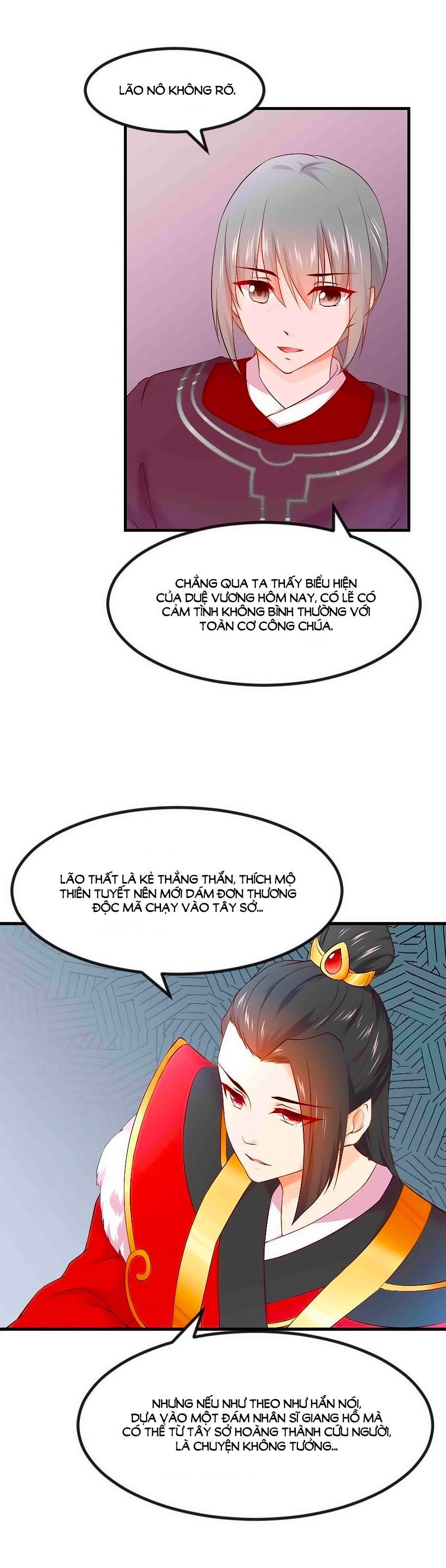 Thịnh Thế Đế Vương Phi - Chap 55