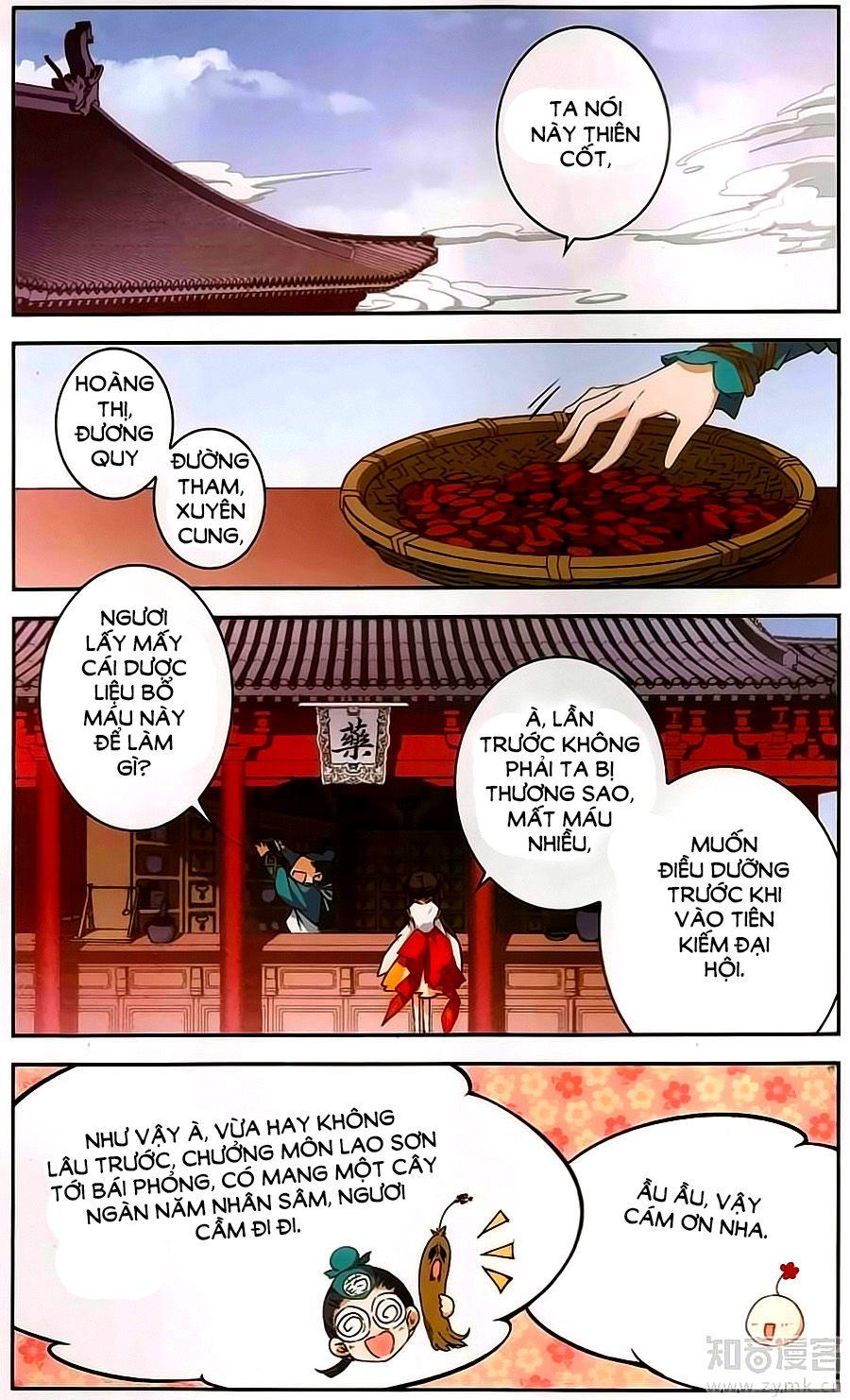 Hoa Thiên Cốt – Chap 119