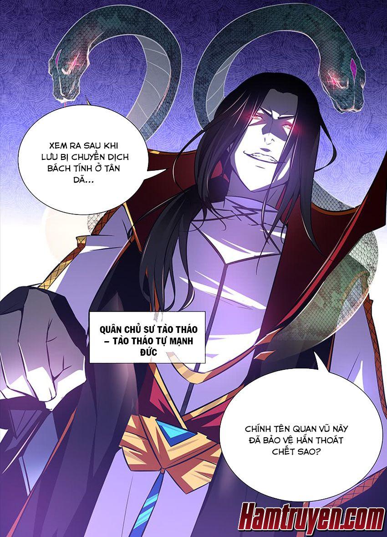 Thiên Cơ Tam Quốc - Chap 8