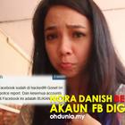 OhDunia.My: Nora Danish Lapor Polis, Bengang Akaun Facebook Kena Godam !..