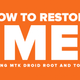 How to Restore IMEI of any MT65xx Smartphones using MTK Droid Root and Tools | shireen PC