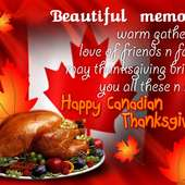 Thanksgiving Canada Thanksgiving Or Thanksgiving Day Occurring On The
