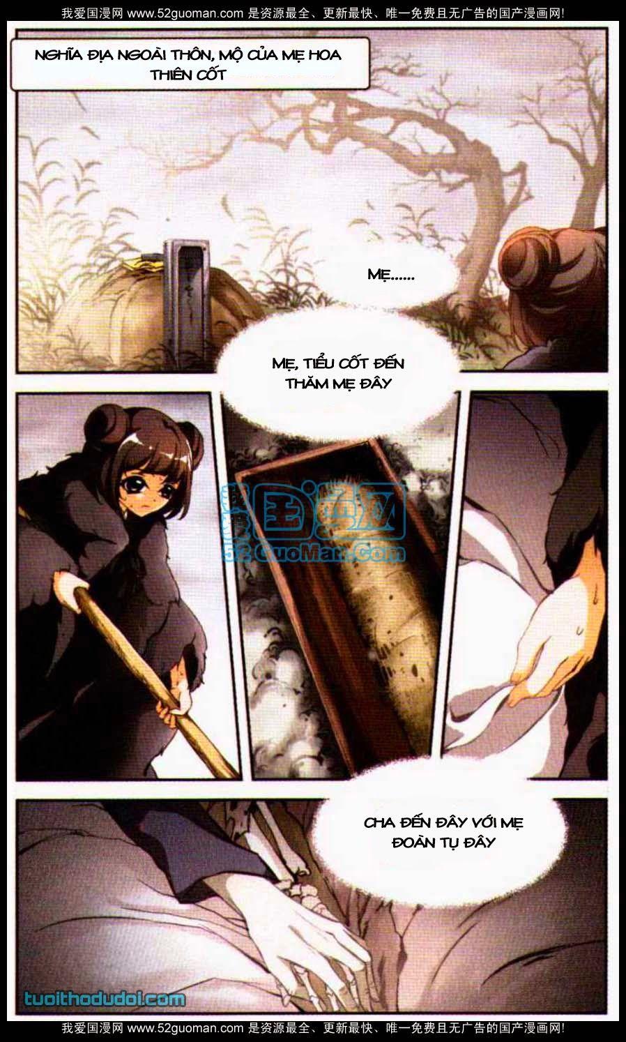 Hoa Thiên Cốt – Chap 3