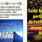 OhDunia.My: Gadis Jahil & Biadap Pertikai Sedekah Al-Fatihah: 'Dah Mati, Mati Je La'