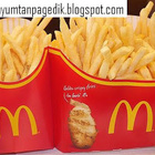 Mega Potato: McDonald Perkenalkan Super Duper Fries Portion!