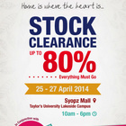 fanacheksaat : Obsesiku: AUSSINO STOCK CLEARANCE SALE @ SYOPZ MALL