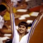 Nadia Comăneci Nadia Is Probably The Most Famous Gymnast Of
