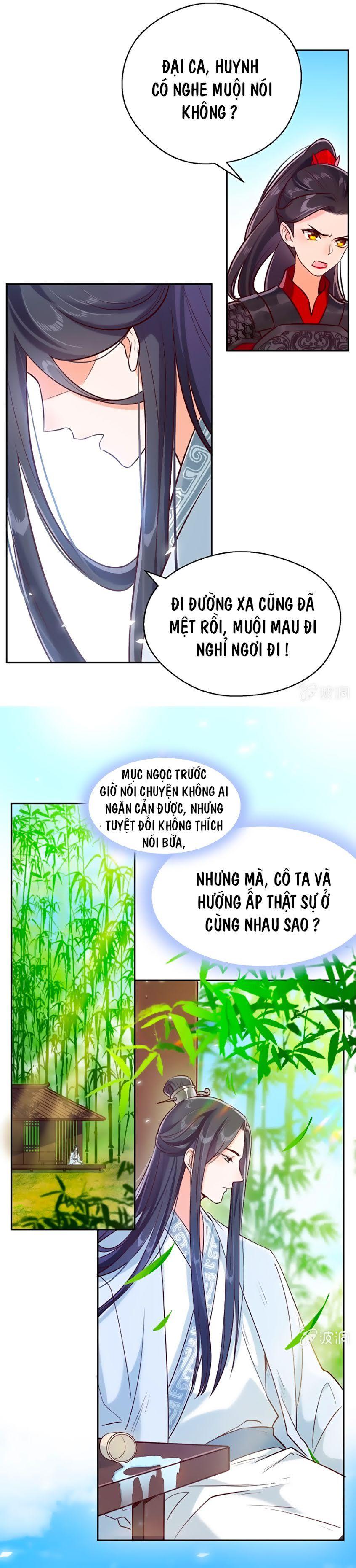 Phượng Khởi Hoa Tàng – Chap 18