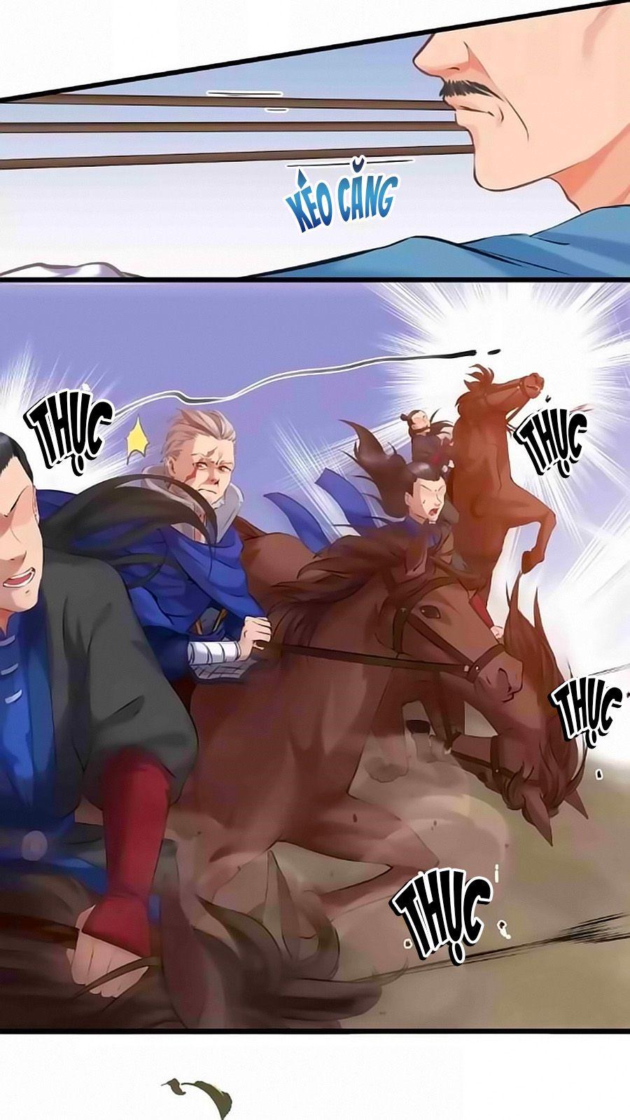 Thịnh Thế Đế Vương Phi - Chap 8