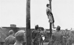 Execution by hanging  )
