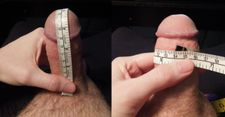 Measure that cock, thanks for the 5 inch submission nice and thick