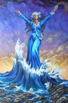 the motion of the ocean Yemaya is the Orisha of the Ogg�n river