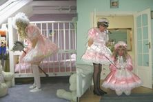 Lady Penelope Kent , England   Strict Dominatrix and Adult Baby and