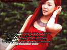 want Tiffany to go back to being a redhead because the red hair that