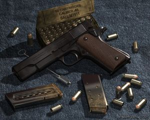 COLT 1911 A1 - Automatic pistol  CAL 45 - Click to view in 1280x1024