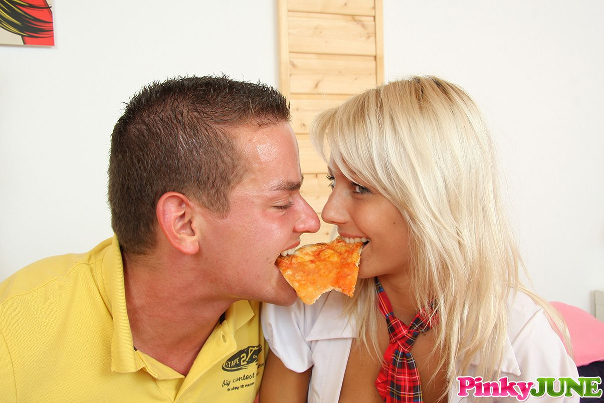 Naturel Lingerie Pizza Delivery
