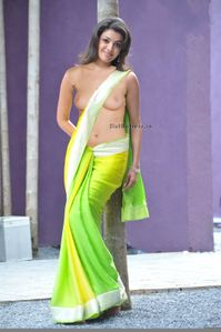 Actress: Kajal Agarwal Without Blouse Showing Nude Boobs And Nipple