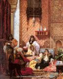 Harem and Odalisque Paintings: Inside the Harem