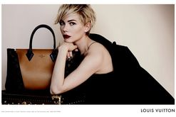Louis Vuitton Accessories Fall/Winter 2013 Campaign featuring Michelle