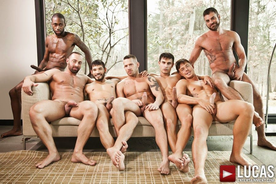Gay Porn Lucas Entertainment Bareback Sex Fest