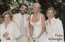 Red Carpet Wedding: Ela Weber and Andrea Bonacci ~ Red Carpet Wedding