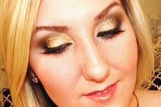 TiffanyD: Glamorous Glitter Makeup Tutorial