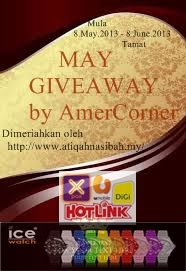 May Giveaway By Amer Corner