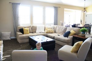 School | Kirsten Krason Interiors : Client Living Room Sprucing Up