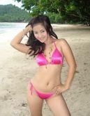 ABG Bikini pink narsis ~ Foto Artis Indonesia Gambar Indo Hot Syur