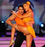 loly bailando adagio latino