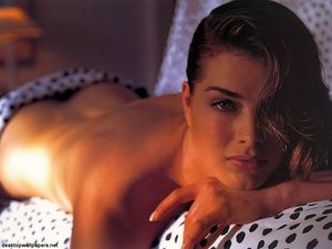 Brooke Shields Hot Top Model and Actress