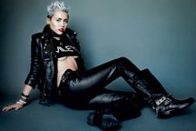 Miley Cyrus Topless on V Magazine 2013