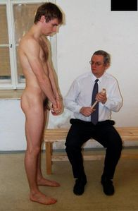 Naked amateur guys: Dad & son