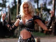 Xena's arch nemesis Callisto, though this does not become clear until