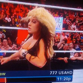 Kaitlyn had a slip of sorts during the June 17 edition of WWE Raw.