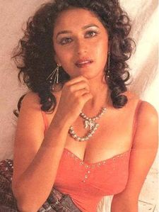 madhuri dixit hot boobs nude