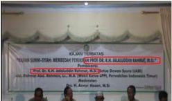 Harian Fajar 26 Februari 2011, laporan hasil Dialog SunniSyiah di UIN