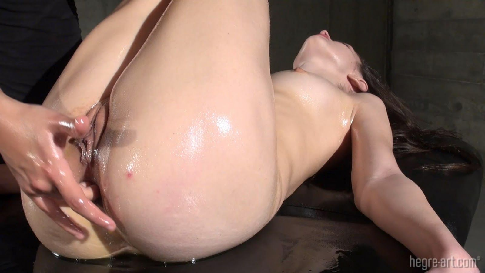 Orgasmic Oily Anal Massage