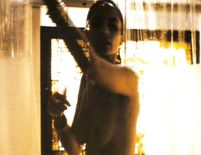 Celeb Videos: Paula Patton nude in shower from Deja Vu