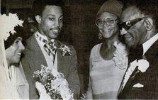 Duana Chenier, Ray Jr., Della Robinson, Ray Charles.