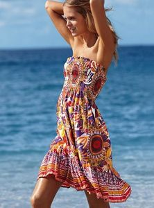 Cute summer dress Strapless Victoria Secret, a casual and simple  Fun