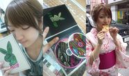 Japanese AV actress Shiori Kamisaki (21) recently expressed her love